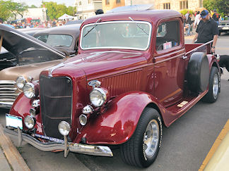 Bob Carbone, 1936 Ford Pick Up - 6/13/14