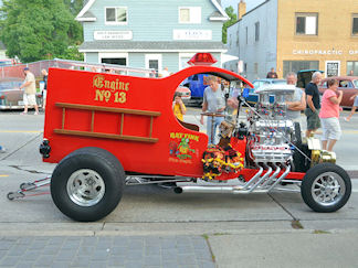Tim Fiedt, 1923 Ford C-Cab Fire Truck - 7/11//14