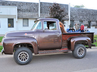 Ray Fernow, 1956 Ford F100 4x4 Pickup - 9/12/14