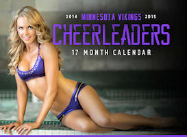 Viking Cheerleader Calendars for sale