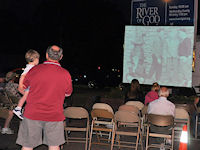 FREE Outdoor TV Nights